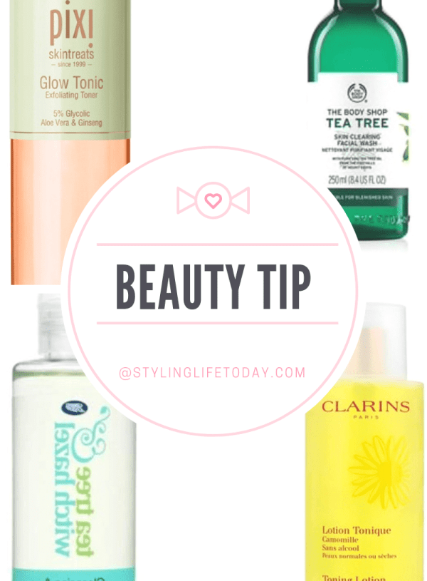 Beauty Tip: Beauty Routine Tips for using a Toner