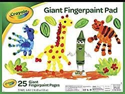 Crayola Fingerpaint Paper Pad