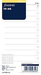 FiloFax Personal Organiser To-Do List Refill