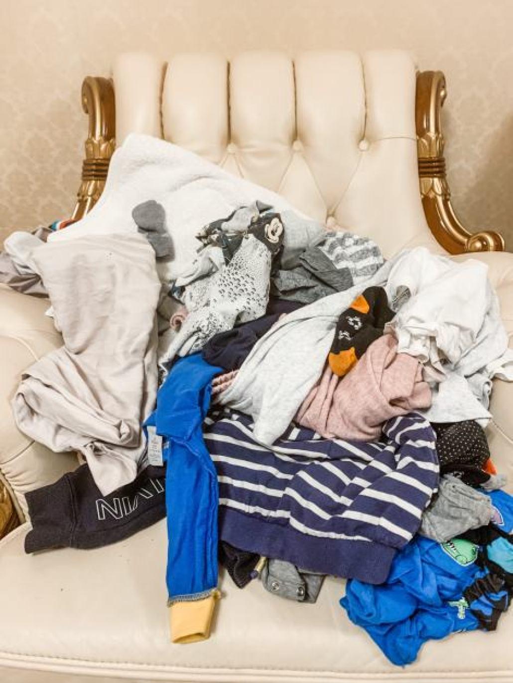 laundry to fold