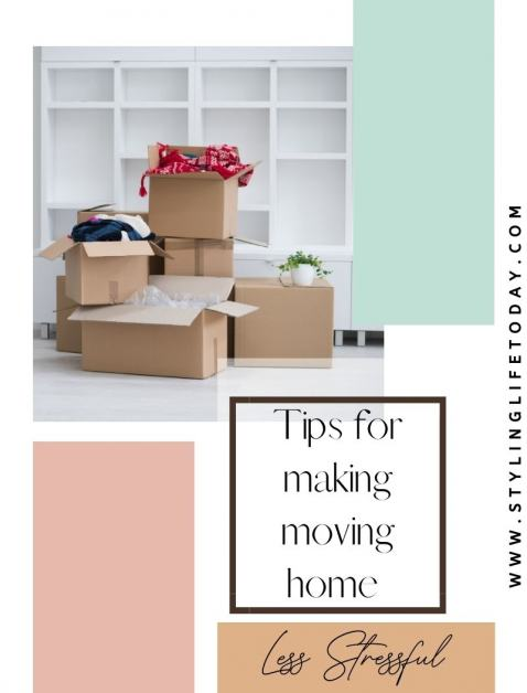 Making Moving Home Less Stressful