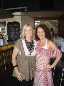 Fashion Fridays coordinator Nikki Parkinson and Italia Boutique\'s Linda Nogara at the September 26, 2008 Fashion Fridays event