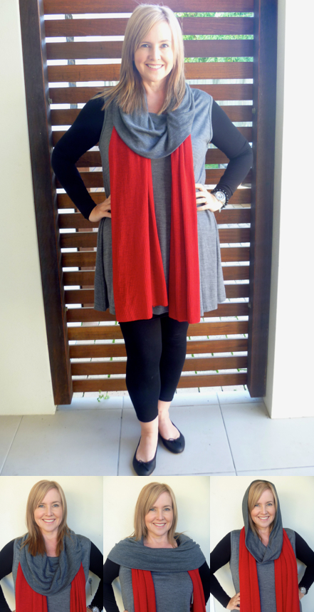 Me wearing the Verily Howl Tunic, Metalicus slip dress, wYse leggings, Country Road ballet flats and Trenery scarf