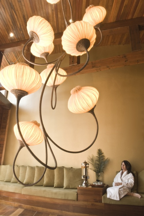 This is not me.  But it is how serene I felt sitting in the lounge of the Gwinganna spa.