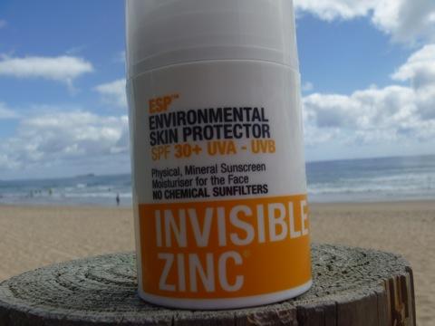 Invisible Zinc ESP Moisturiser SPF30+ $35