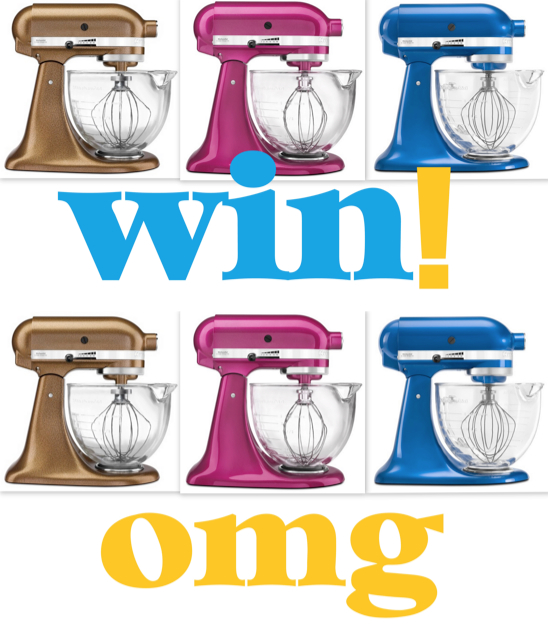Win a KitchenAid Mixer on Justb. Australia