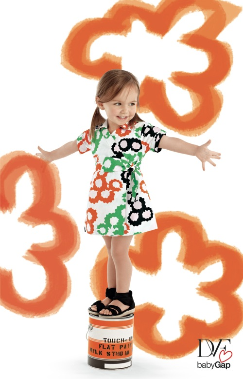 Diane von Furstenburg Wrap for GapKids dress $49.95