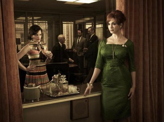 Mad Men Season 5 Joan and Peggy