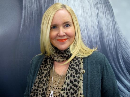 Nikki Parkinson: suite three blow dry and Innoxa Tangerine lips
