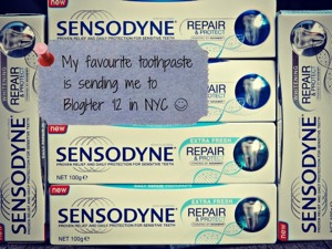 Sensodyne is sending me to BlogHer '12