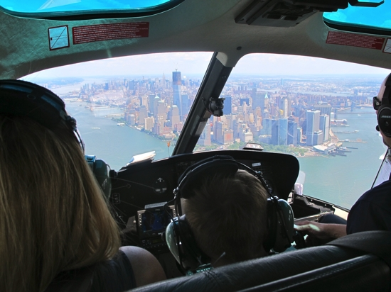 Helicopter tour New York City