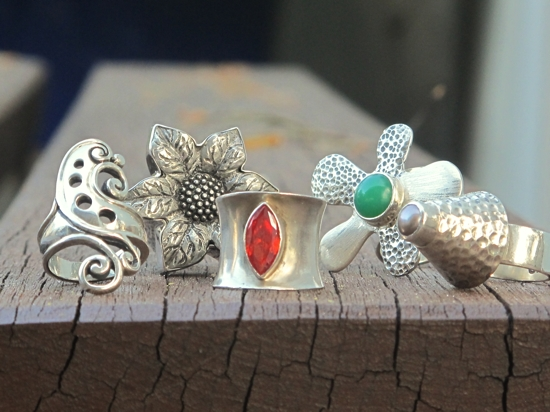Renee Blackwell Design: statement rings
