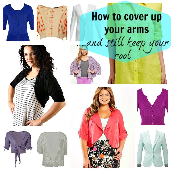 How to cover up your arms