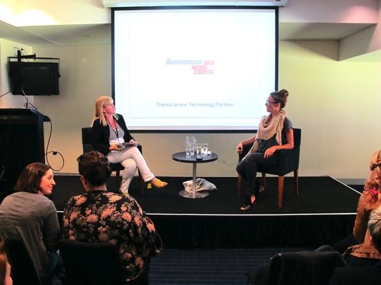 Nikki Parkinson interviews Sarah Wilson