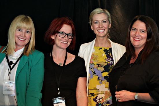 #pbevent Nikki Parkinson, Styling You; Eden Riley, Edenland; Lorraine Murphy, The Remarkables; Mrs Woog, Woogsworld