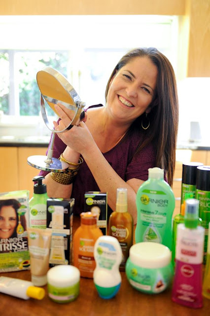 Mrs Woog travelled to BlogHer '12 with sponsorship from Garnier
