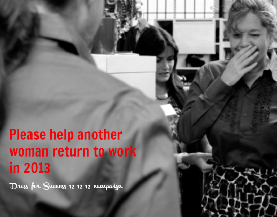 Dress for Success 12 12 12 Christmas Appeal