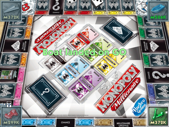 Father and son iPad time: thanks to the EA Games iPad app sale   Monopoly Millionaire