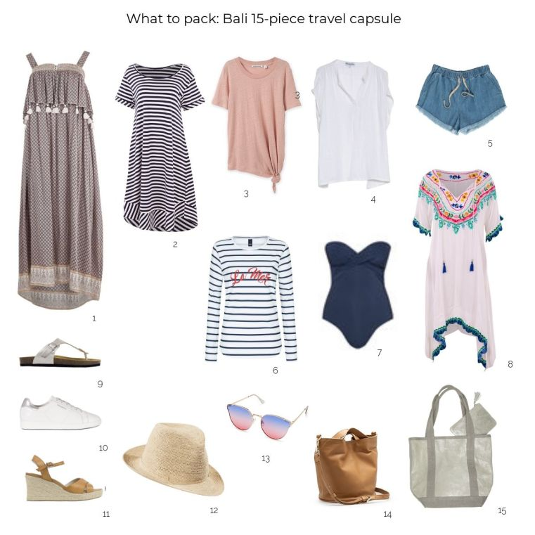 What to pack for a trip to Bali | Styling You