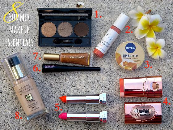 summer makeup essentials