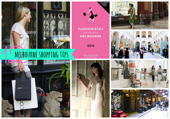 12 Melbourne Shopping Tips