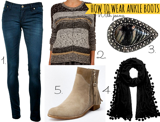 f097acd64ded Wardrobe boot camp  how to wear ankle boots