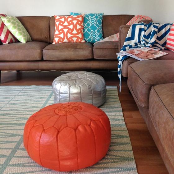 Freedom Furniture Brooklyn leather sofas