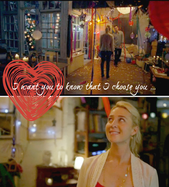 Romantic moment | Offspring | Nina and Patrick | I want you to know that I choose you