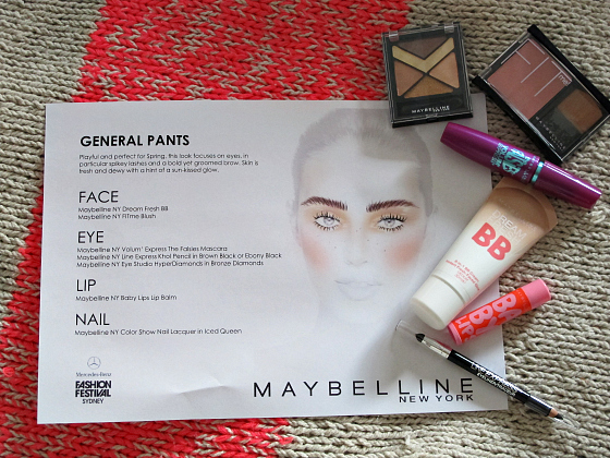 Maybelline NY for General Pants MBFFS 2013