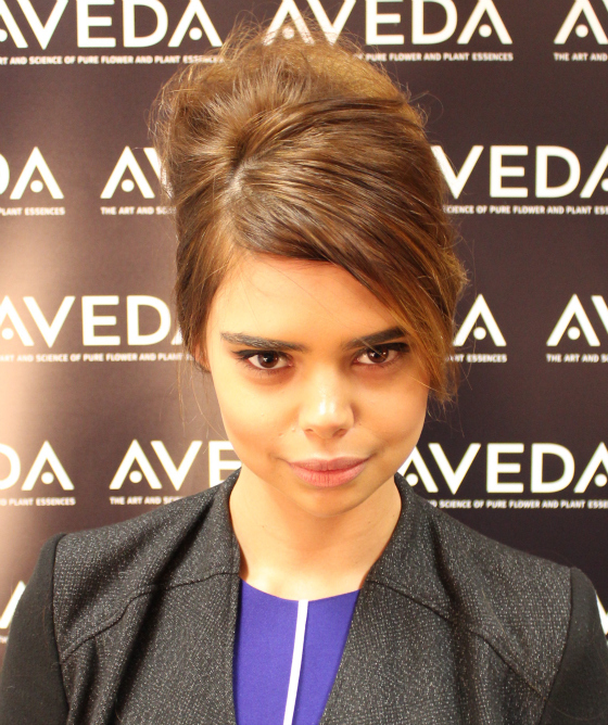 Samantha Harris | Aveda | David Jones Spring Summer 2013-14