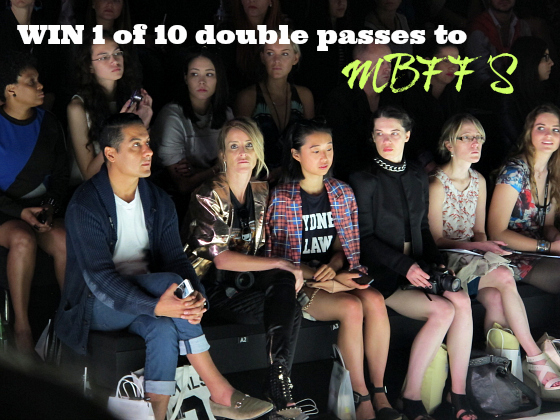 Win 1 of 10 double passes to MBFFS