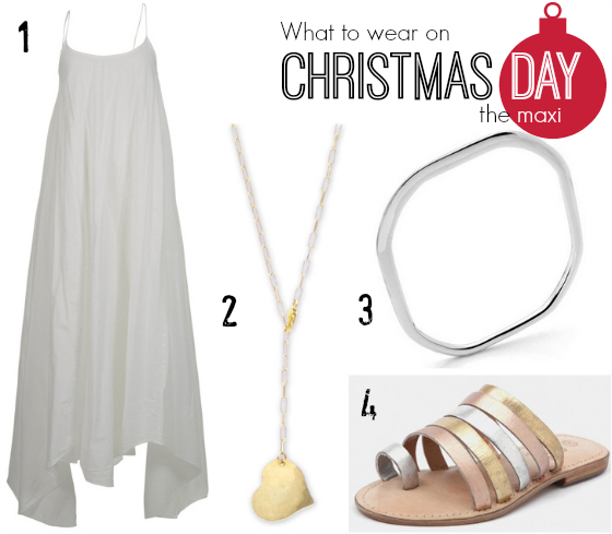 What to wear Christmas Day - the maxi dress