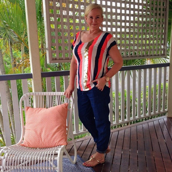 Sass and bide top Country Road pants Misano shoes