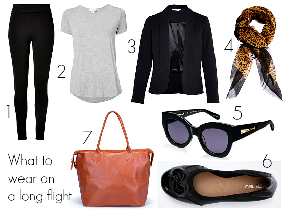 What to wear for a long flight