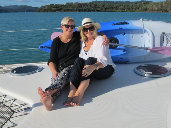 Whitsundays - Cumberland Charter Yachts - Baby-Mac and Styling You