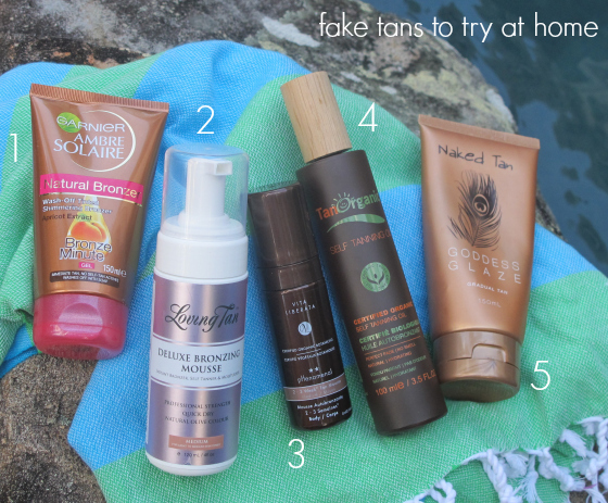 5 fake tan products to try at home