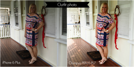 iPhone 6 Plus vs Olympus PEN E-PL7