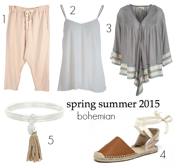 spring summer 2015 fashion trends - bohemian