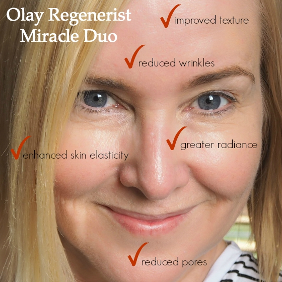 Olay Regenerist Miracle Duo - benefits