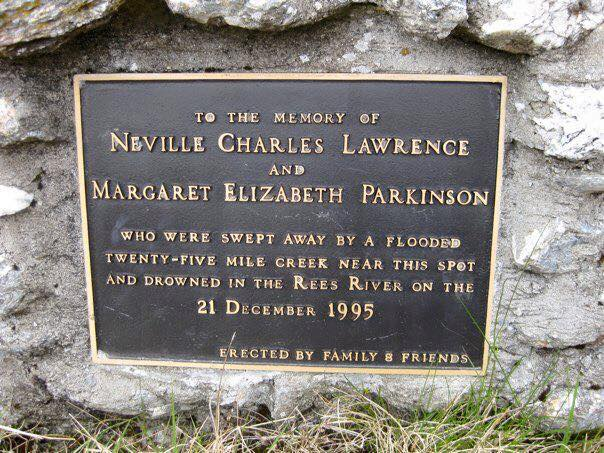 Neville Lawrence and Margaret Parkinson memorial Rees Track