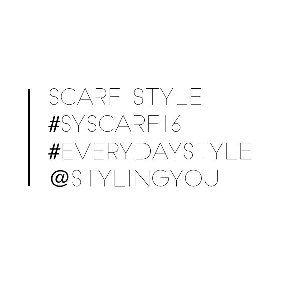 Scarf Style | #syscarf16 | #everydaystyle | @stylingyou