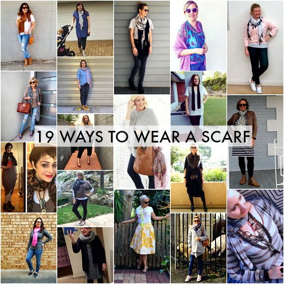 19 ways to wear a scarf | Styling You | #everydaystyle