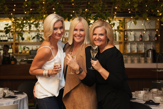 Style + Champagne event   Carolyn Tate, Nikki Parkinson, Gillian Moody   Styling You   Champagne Cartel