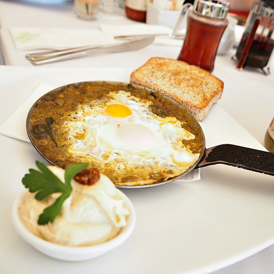 Shakshouka at Trio Cafe Bondi | 10 things to do in Bondi