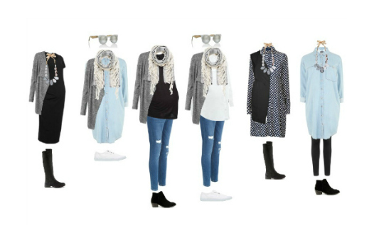 feature image maternity wear capsule wardrobe