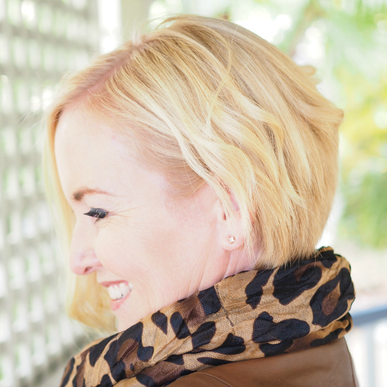 Asymmetrical bob - side view | why you should totally change your hair style