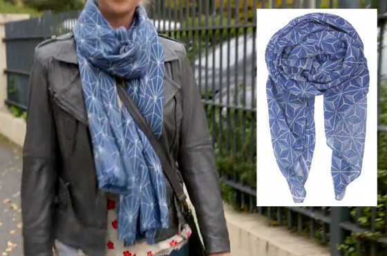 Becksondergaard scarf | How to dress like Offspring's Nina Proudman | Series 6 Episode 6