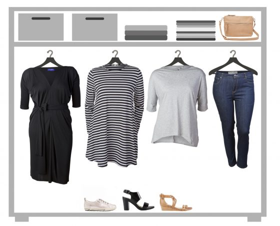 How to create a capsule wardrobe | Styling You