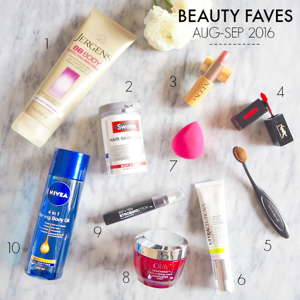 Styling You's August-September 2016 beauty favourites
