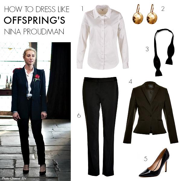 How to dress like Offspring's Nina Proudman   Season 6; Episode 8